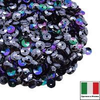 Пайетки 4 мм Италия форма чаша, цвет 9275 Scarabeo Metallizzato 3 грамма 059644 - 99 бусин