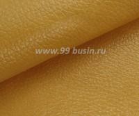 Экокожа, цвет куркума, размер 20*14 см, толщина 1 мм, фактурность мелкая, 1 лист 059683 - 99 бусин