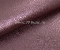 Экокожа, цвет жемчужный пыльно-сливовый, размер 20*14 см, толщина 1 мм, фактурность мелкая 1 лист 059685 - 99 бусин