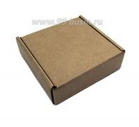 Коробочка сборная № 10 из гофрокартона толщиной 1,5 мм, размер 92*92*30 мм 1 штука 059868 - 99 бусин