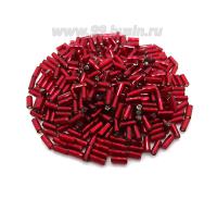 Стеклярус 5 мм гладкий Чехия Preciosa огонек красные тона 97090 упаковка 10 грамм 05S97090 - 99 бусин