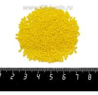 Бисер Чехия натуральный непрозрачный желтый, размер 13, арт. 83130, упаковка 5 грамм 060547 - 99 бусин