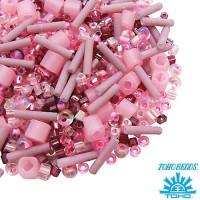Бисер TOHO Beads Mix, цвет 03 Pink, 10 грамм/упаковка 060577 - 99 бусин