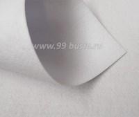 Фетр Гамма Премиум белый (801) лист 30*20 см,  толщина 1,2 мм, 1 лист 100% полиэстер, Корея 060703 - 99 бусин