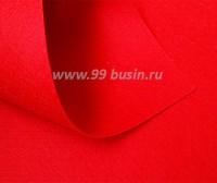 Фетр Гамма Премиум тёмно-красный (837) лист 30*20 см,  толщина 1,2 мм, 1 лист 100% полиэстер, Корея 060708 - 99 бусин