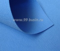 Фетр Гамма Премиум тёмно-голубой (853) лист 30*20 см,  толщина 1,2 мм, 1 лист 100% полиэстер, Корея 060710 - 99 бусин