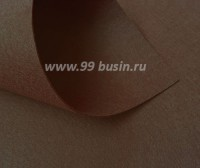 Фетр Гамма Премиум тёмно-коричневый (888) лист 30*20 см,  толщина 1,2 мм, 1 лист 100% полиэстер, Корея 060711 - 99 бусин