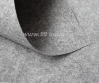 Фетр Гамма Премиум серый меланж (892) лист 30*20 см,  толщина 1,2 мм, 1 лист 100% полиэстер, Корея 060712 - 99 бусин