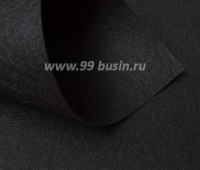 Фетр Гамма Премиум чёрный (902) лист 30*20 см,  толщина 1,2 мм, 1 лист 100% полиэстер, Корея 060714 - 99 бусин