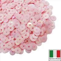 Пайетки 4 мм Италия плоские, цвет 0562 Rosa Orientale 3 грамма 060877 - 99 бусин