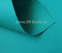 Фетр Гамма Премиум темная морская волна (861) лист 30*20 см, толщина 1,2 мм, 1 лист 100% полиэстер, Корея 060933 - 99 бусин