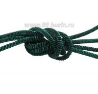 Французская проволока (канитель) витая спираль 3,5 мм, цвет radium (изумруд), пр-во Индия, упаковка 5 граммов 061075 - 99 бусин