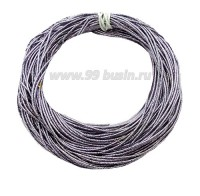 Канитель ОПТ FANCY 1,5 мм гладкая упругая, цвет silver lilac/metallic (нежно-сиреневый/бирюзовый металлик) 50 граммов/упаковка 061208 - 99 бусин