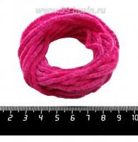 Синель Италия Mafil 3 мм, цвет Rosa caldo - маджента, 5 метров/упаковка 061435 - 99 бусин