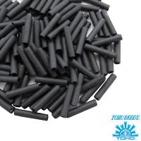 Стеклярус TOHO BUGLE 9 мм № 0611 матовый графит 5 граммов Япония 061755 - 99 бусин