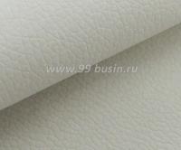 Экокожа, цвет молочный, размер 20*14 см, ТОНКАЯ (без тканевой основы) толщина 0,5 мм, фактурность мелкая, 1 лист 061761 - 99 бусин