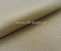 Экокожа Турция перламутровая, цвет песочный, размер 20*14 см,  толщина 1 мм, фактурность мелкая, 1 лист 061793 - 99 бусин