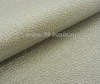 Экокожа Турция перламутровая, цвет лён, размер 20*14 см,  толщина 1 мм, фактурность мелкая, 1 лист 061796 - 99 бусин