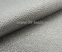 Экокожа Турция перламутровая, цвет серебристый, размер 20*14 см,  толщина 1 мм, фактурность мелкая, 1 лист 061797 - 99 бусин