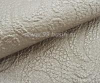 Экокожа Турция Тисненая перламутровая, цвет холодный беж, размер 20*14 см,  толщина 1 мм, фактурность крупная, 1 лист 061802 - 99 бусин