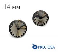 Риволи PRECIOSA Maxima 14 мм Black Diamond 1 штука 061809 - 99 бусин