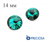 Риволи PRECIOSA Maxima 14 мм Blue Zircon 1 штука 061813 - 99 бусин