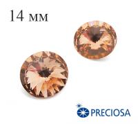 Риволи PRECIOSA Maxima 14 мм Light Peach 1 штука 061828 - 99 бусин