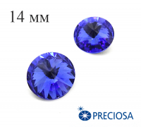 Риволи PRECIOSA Maxima 14 мм Sapphire 1 штука 061831 - 99 бусин