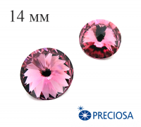 Риволи PRECIOSA Maxima 14 мм Rose 1 штука 061848 - 99 бусин