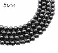 5810 Жемчуг Swarovski 5мм Black 10 штук/упаковка 061851 - 99 бусин