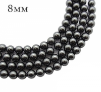 5810 Жемчуг Swarovski 8 мм Black 5 штук/упаковка 061852 - 99 бусин