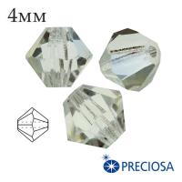 Биконусы хрустальные Preciosa 4 мм Viridian 20 штук/упаковка 061976 - 99 бусин