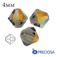 Биконусы хрустальные Preciosa 4 мм 2SD Marea 20 штук/упаковка 061978 - 99 бусин