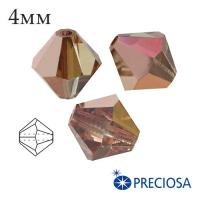 Биконусы хрустальные Preciosa 4 мм Capri Gold 20 штук/упаковка 061981 - 99 бусин