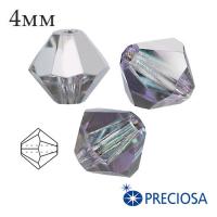 Биконусы хрустальные Preciosa 4 мм Vitrail Light 20 штук/упаковка 062038 - 99 бусин