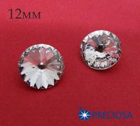 Риволи PRECIOSA Maxima 12 мм Crystal 1 штука 062136 - 99 бусин