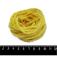 Синель Италия Mafil Букле 3 мм, цвет Giallo жёлтый, 5 метров/упаковка 062434 - 99 бусин