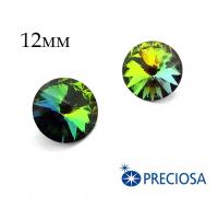 Риволи PRECIOSA Maxima 12 мм Vitrail Medium 1 штука Чехия 062440 - 99 бусин
