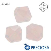 Биконусы хрустальные Preciosa 4 мм Rose Opal 20 штук/упаковка 062593 - 99 бусин