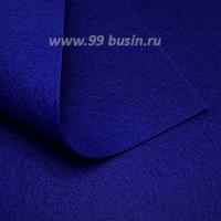 Фетр Гамма Премиум Тёмно-синий (856) лист 30*20 см,  толщина 1,2 мм, 1 лист 100% полиэстер, Корея 062627 - 99 бусин
