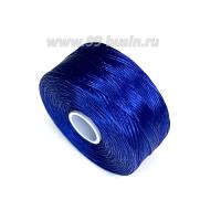 Нить Superlon (S-lon) D цвет Blue (синий), толщина 0,11 мм, катушка 71.3 метров 062828 - 99 бусин