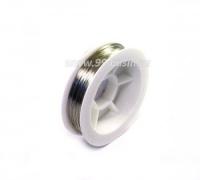 Проволока из нержавеющей стали, 3406,  толщина 0,33 мм, 30 метров/упаковка 062891 - 99 бусин