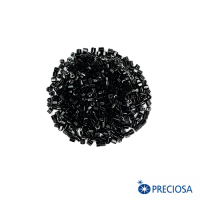 Рубка Чехия Preciosa гранёная, размер 10/0 (1,8 мм) цвет черный, арт. 23980, 10 гр. 062933 - 99 бусин