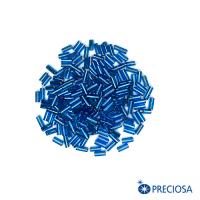 Стеклярус огонек ярко-синие тона, размер 2 (5*2 мм) арт. 67150, 10 гр, Чехия 062939 - 99 бусин
