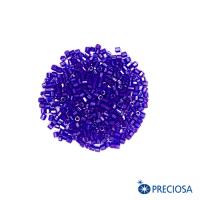 Рубка Чехия PRECIOSA гранёный, насыщенный фиолетовый, красное отверстие, размер 10 (ок.2 мм), арт. 34057, 10 грамм 062947 - 99 бусин