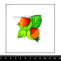 Шаблон для броши Фундучок, фетр Корея Премиум, толщина 1,25 мм, размер 10*10 см 063110 - 99 бусин