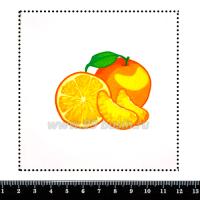 Шаблон для броши Клементины, фетр Корея Премиум, толщина 1,25 мм, размер 10*10 см 063123 - 99 бусин