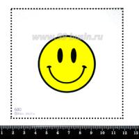 Шаблон для броши Смайл, фетр Корея Премиум, толщина 1,25 мм, размер 10*10 см 063195 - 99 бусин