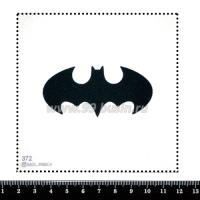 Шаблон для броши Бетмэн, фетр Корея Премиум, толщина 1,25 мм, размер 10*10 см 063226 - 99 бусин