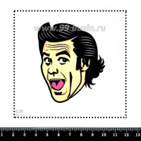 Шаблон для броши Джим 638, фетр Корея Премиум, толщина 1,25 мм, размер 10*10 см 063267 - 99 бусин